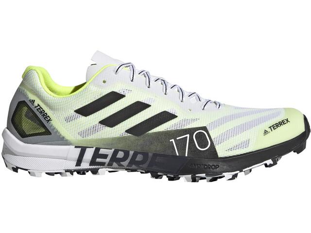 adidas TERREX Speed Pro Trail Running Schuhe Damen feather white/solar yellow/core black